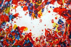 © Sam Francis | The East is Red | Annandale Galleries Sydney Australia
