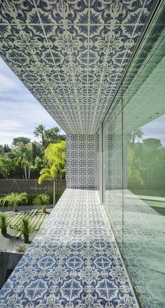 tile application