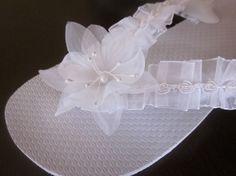 White Wedding Flip Flops by rocktheflops on Etsy, $25.00