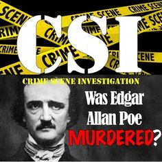 The mystery of Edgar Allan Poe's death is investigated with this exciting CSI activity!