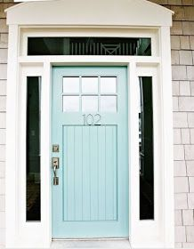 the obsessive imagist | art, design, life: MY DREAM HOME: A COLORFUL FRONT DOOR