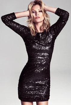 arty Dresses - Holiday mango kate moss sequin dress