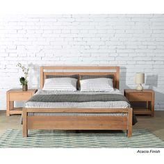 Grain Wood Furniture Loft Queen Platform Bed from AllModern. Shop more products from AllModern on Wanelo. Cama Queen Size, Queen Size Bedding, Bedding Sets, Queen Mattress, Wood Furniture, Bedroom Furniture, Bedroom Decor, Modern Furniture, Bedroom Rustic
