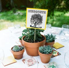 mexican tile centerpiece decor