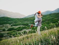 Utah Mountain Engagement Photos - picture perfect