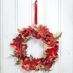 Paper Flower Wreath | Craft Ideas & Inspirational Projects | Hobbycraft