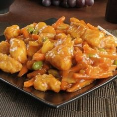 Orange Chicken - Stressfree Recipes. Who does not LOVE orange chicken!?