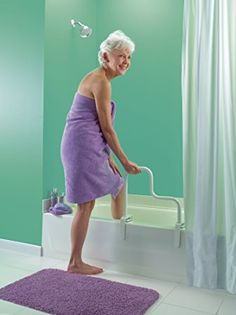 Moen DN7005 Home Care Multi Grip Tub Safety Bar (Glacier), Fixed Showerheads - Amazon Canada