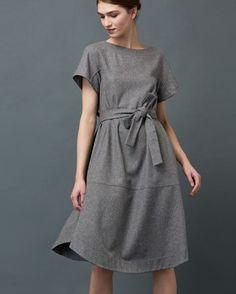 Women's Wool Flannel Mia Dress