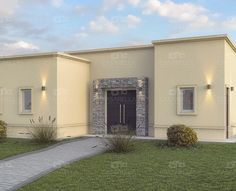 Casarella diseña cada proyecto a tu gusto y necesidad. Modern House Design, Exterior Design, Home Office, House Plans, Home And Family, Sweet Home, Garage Doors, Country, House Styles