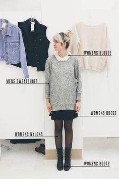 Geek-Chic Fashion Style