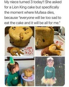 Really Funny Memes, Stupid Funny Memes, Funny Laugh, Funny Relatable Memes, Funny Posts, Hilarious, Dark Humor Jokes, Lion King Cakes, Disney Memes