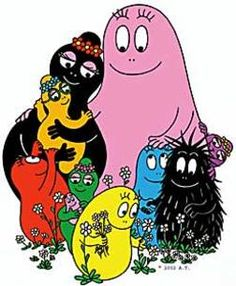 """I'm Barba Papa!"""" - Naturally i wouldnt noticed as a child, but looking back, BarbaPapa & BarbaMama, must be the first multi-racial couple on childrens books & tv."""
