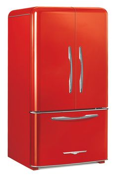 Elmira Stoveworks Fridge Red