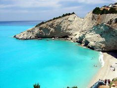 Lefkada island - Greece. Where Gar's family is from =) Can't wait to visit!!