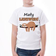 Mały leniwiec #koszulka #koszulkadziecięca #poczpol #tshirt #dladziecka #małyleniwiec #leniwiec Malm, Mens Tops, T Shirt, Women, Fashion, Moda, Tee, Women's, Fasion