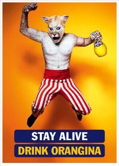 Orangina: Stay Alive, Wolf