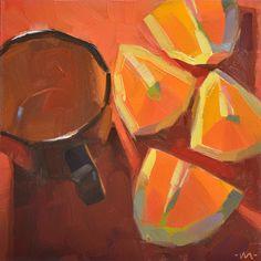 Carol Marine creates simple, beautiful paintings everyday