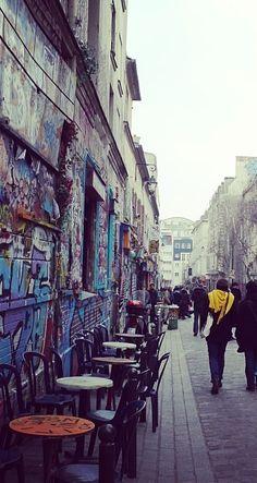 Explore Belleville, Paris' up and coming neighbourhood