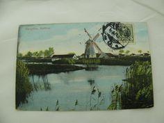 Brevkort Postcard Denmark Danmark Dänemark Bangsbo Mølleaa windmill | eBay