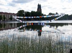 "Kaarina Kaikkonen: ""We are All in the Same Boat"", 2009, installation made of shirts."