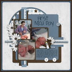 First NICU Day by afullmer0327 - Cards and Paper Crafts at Splitcoaststampers