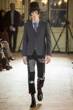 2014 FALL/WINTER PARIS FASHION TRENDS | Junya Watanabe Fall/Winter 2014 - Paris Fashion Week #PFW