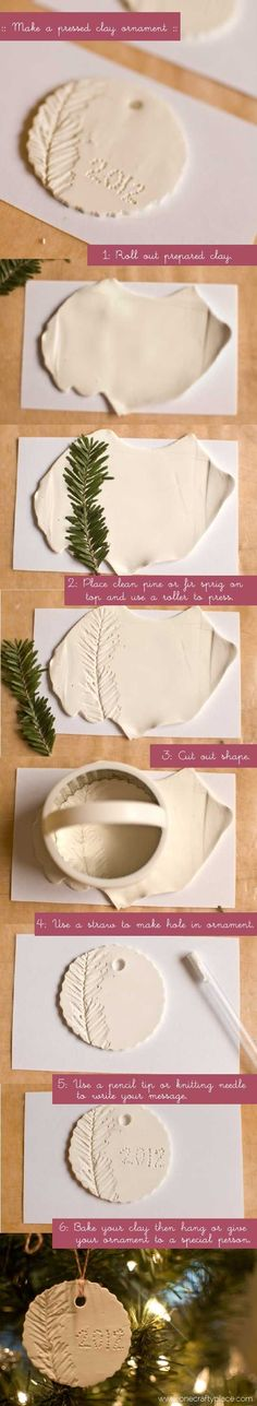 Christmas Crafts - How to Make Polymer Clay Ornaments - One Crafty Place Polymer Clay Ornaments, Diy Christmas Ornaments, Christmas Decorations, Homemade Ornaments, Salt Dough Ornaments, Noel Christmas, Homemade Christmas, Christmas Photos, Christmas Projects