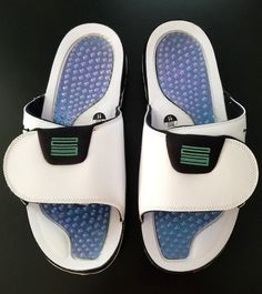 1a2115c0ce16 NIKE AIR JORDAN HYDRO 11  Emerald  Men s Sandals AA1336 117 Size 11  fashion   clothing  shoes  accessories  mensshoes  sandals