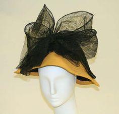 Hat (Mushroom) 1912
