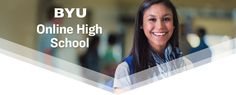 Welcome to BYU Online High School | BYU Online High School Online High School, Home Study, A Classroom, Learning, Studying, Teaching, Onderwijs