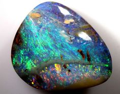 BOULDER OPAL POLISHED STONE 17.50 CTS  INV-231