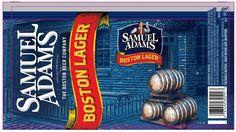Samuel Adams Boston Lager 12 Oz Can Label!