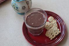 Fotorecept | Belgická horúca čokoláda Chocolate Fondue, Pudding, Smoothie, Desserts, Food, Smoothies, Shake, Meal, Custard Pudding