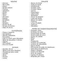 Check List de Viagem Feminino: O que levar?