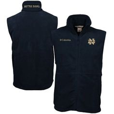 Columbia Notre Dame Fighting Irish Flanker Vest - Navy Blue