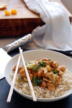 cashew chicken - 30 min meal via the art of doing stuff