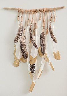 no more words....        just decorate with feathers...                     via my  Pinterest feather board