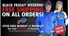 Black Friday Free Shipping - Buffalo Bills
