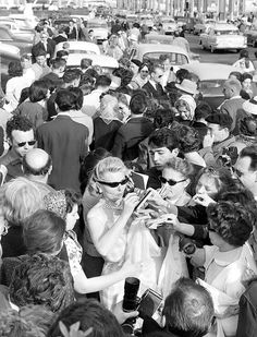 """""""Grace Kelly filmfestival Cannes"""" about 1955. photo: Kees Scherer"""