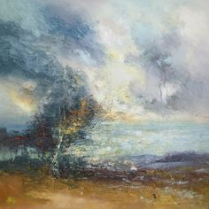 'Sea clearing series 3' by Claire Wiltsher 90cm x 90cm Mixed media £1250 http://www.dart-gallery.com/gallery_detail.asp?id=2293