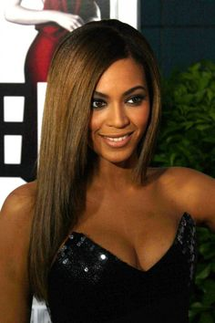 Beyonce chestnut hue hair