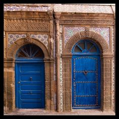 Essaouira, deux portes anciennes