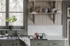Home Decor Styles .Home Decor Styles Country Kitchen Flooring, Country Dining Rooms, Cute Kitchen, Kitchen Decor, Kitchen Shelves, Kitchen Ideas, Luxury Home Decor, Cheap Home Decor, Cottage Kitchens