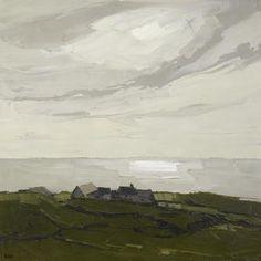Sir Kyffin Williams (1918 to 2006) Welsh landscape painter