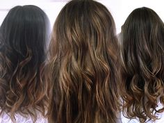 Beautiful brunettes done by Alicia Popham in Corvallis Oregon