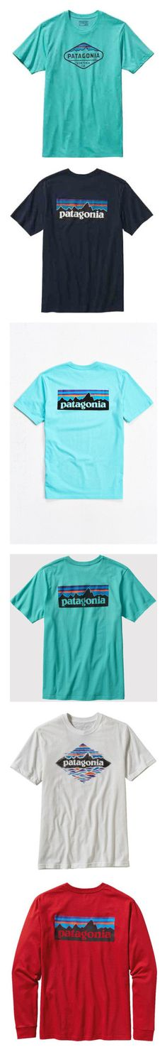 """""""Patagonia"""" by preppy-southern-girl88 ❤ liked on Polyvore featuring men's fashion, men's clothing, men's shirts, men's t-shirts, mens ribbed shirt, mens cotton t shirts, mens print shirts, mens patterned t shirts, mens t shirts and t-shirts"""