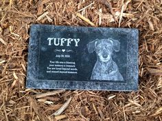 R.I.P. Tuffy ~ StoneArtUSA custom made memorial stones & cremation urns for pets.