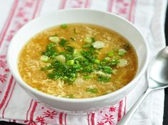 How to Make Egg Drop Soup Cooking Lessons from The Kitchn | The Kitchn