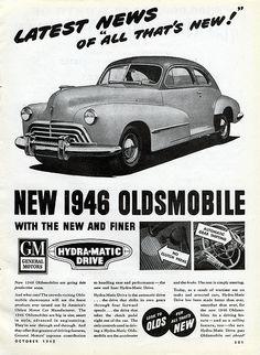 1946 Oldsmobile Ad